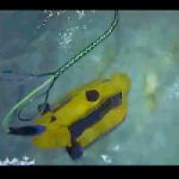 Ubåt på mässa