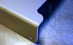 Bearbetning av plåt, aluminium med mera i mindre serier.