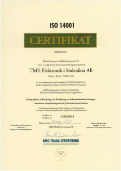 ISO 14001 - 2018